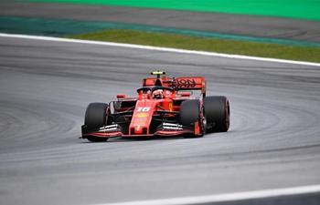Qualifying session of Formula One Brazilian Grand Prix held in Sao Paulo
