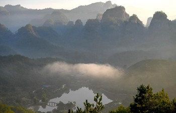 Scenery of Wuyishan Mountain in southeast China's Fujian