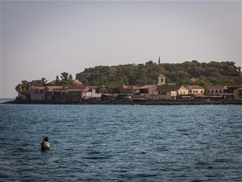 Scenery of Goree Island near Dakar, Senegal