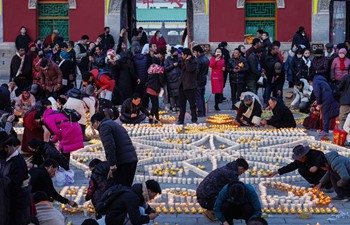 Butter Lamp Festival celebrated in China's Qinghai