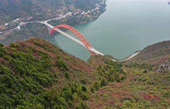 Scenery of Three Gorges in Chongqing