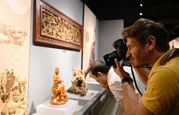 Exhibition on intangible cultural heritages along ancient Maritime Silk Road held in Quanzhou