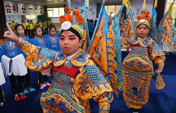 Schools establish Peking Opera interest clubs in Qingdao, E China