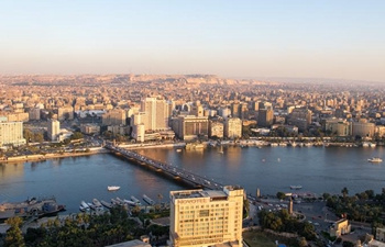 Scenery seen from Cairo Tower