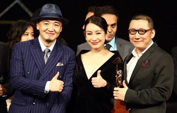 "China's movie ""The Fourth Wall"" wins prize in Cairo int'l film festival"
