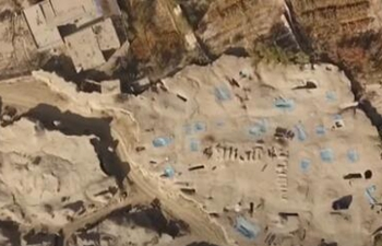 Ancient tombs of Tang Dynasty unearthed in Xinjiang