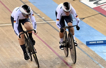 In pics: team sprint of 2019-2020 UCI track cycling world cup