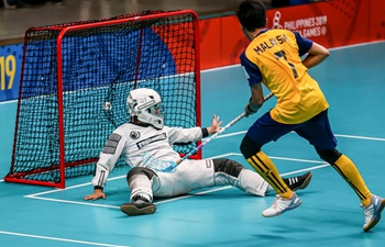 Highlights of men's floorball match at SEA Games 2019