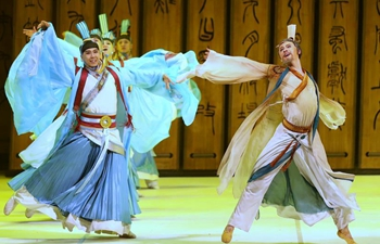"Dance drama ""Confucius"" staged in St. Petersburg, Russia"