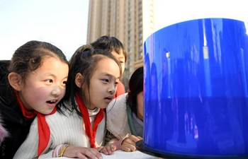 Community holds activity to promote popular science among children in E China
