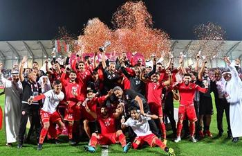 Bahrain wins 24th Arabian Gulf Cup 2019 final match in Doha