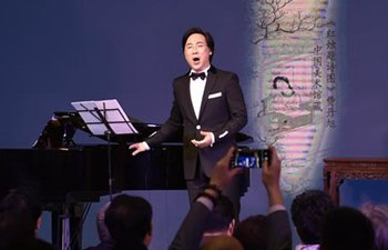 Baritone singer Liao Changyong holds solo concert in Beijing