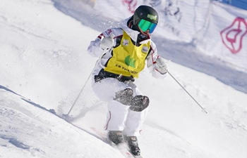 In pics: moguls finals at Thaiwoo FIS Freestyle Ski Moguls World Cup