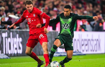 German Bundesliga: Bayern Munich vs. Wolfsburg