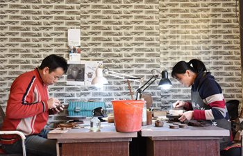 Pic story of pottery art masters in northeast China's Heilongjiang
