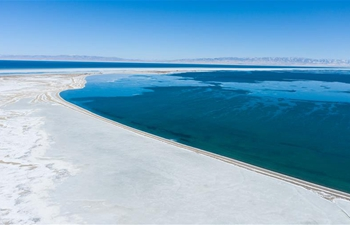 "Qinghai Lake enters ""frozen period"""