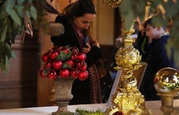 Chantilly Castle in festive atmosphere