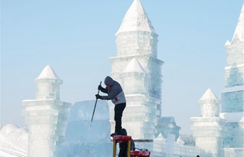 9th China Harbin Int'l Ice-Assemblage Championship held in Harbin