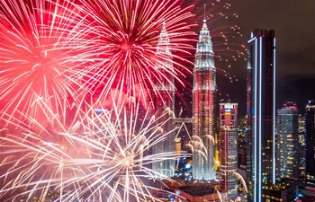 In pics: New Year's celebrations around world