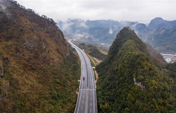 Two expressways in southwest China's Guizhou open to traffic