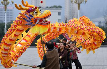 People all over China celebrate New Year through a variety of activities