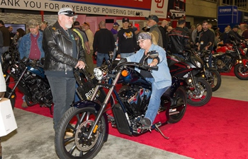 Dallas Int'l Motorcycle Show held in Texas, U.S.