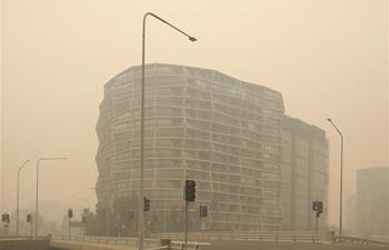 Bushfire smoke shrouds Canberra, Australia
