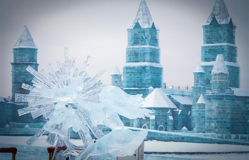 In pics: ice sculptures at Harbin Ice and Snow World