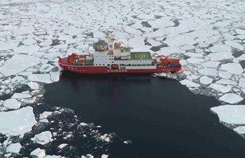 "China's icebreaker to travel through ""roaring forties"" from Cosmonauts Sea"