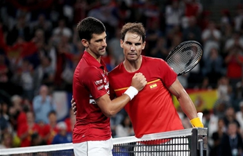 ATP Cup final: Novak Djokovic vs. Rafael Nadal
