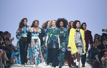 In pics: models present creations at Mercedes-Benz Fashion Week
