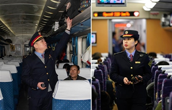 Pic Story: Train conductor couple can't meet due to different schedules