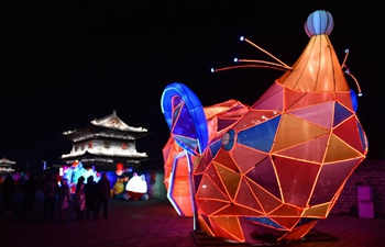 Lantern fair held in Datong, Shanxi