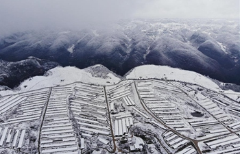 Snow scenery in Guizhou