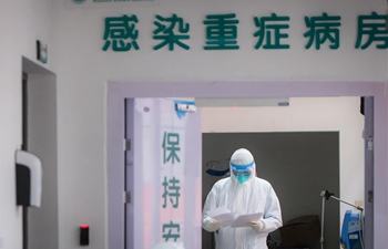 Medical staff work on frontline of combating novel coronavirus in Wuhan