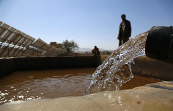 In pics: solar powered water pump in Sanaa, Yemen