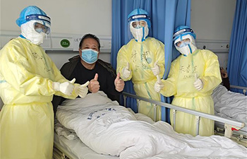In pics: medical team members in Wuhan