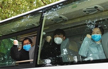Anhui sends 2nd batch of medical team to Hubei to combat novel coronavirus outbreak