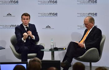 "Macron calls for ""European strategy"" at Munich Security Conference"