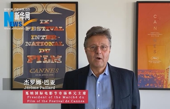 Warm greeting from Cannes to Chinese people in epidemic fight