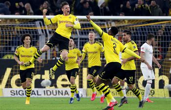 German Bundesliga match: Borussia Dortmund vs. Eintracht Frankfurt