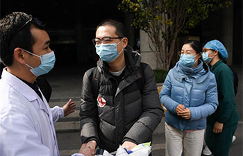 Pic story: member of fourth batch of medical team of Anhui