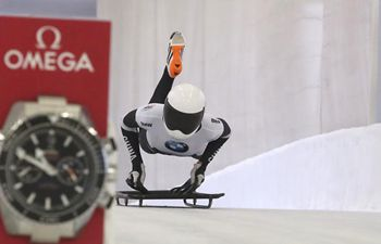 In pics: women's skeleton event at IBSF World Cup