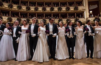 Opera Ball held in Vienna