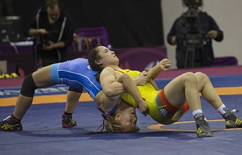 Highlights at Asian Wrestling Championships