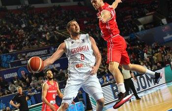 Eurobasket qualifying match: Georgia vs. Switzerland