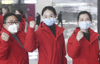 Team of 173 medical workers from Chongqing leaves for Wuhan