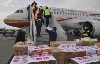 Chengdu sends 231 health workers, medical supplies to Hubei