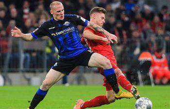 Leaders Bayern see off resilient Paderborn 3-2 in Bundesliga