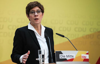 CDU to hold party congress on April 25 to elect new leader